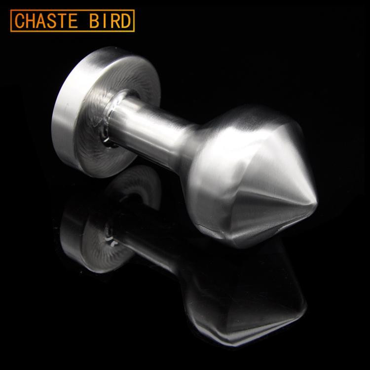 Chaste Oiseau 650g Homme Femme Big Anal Métal Plugs massif Acier inoxydable lourd Anus Perle Chastity Anal Sex Toys Adult Jeu A114 Y191028