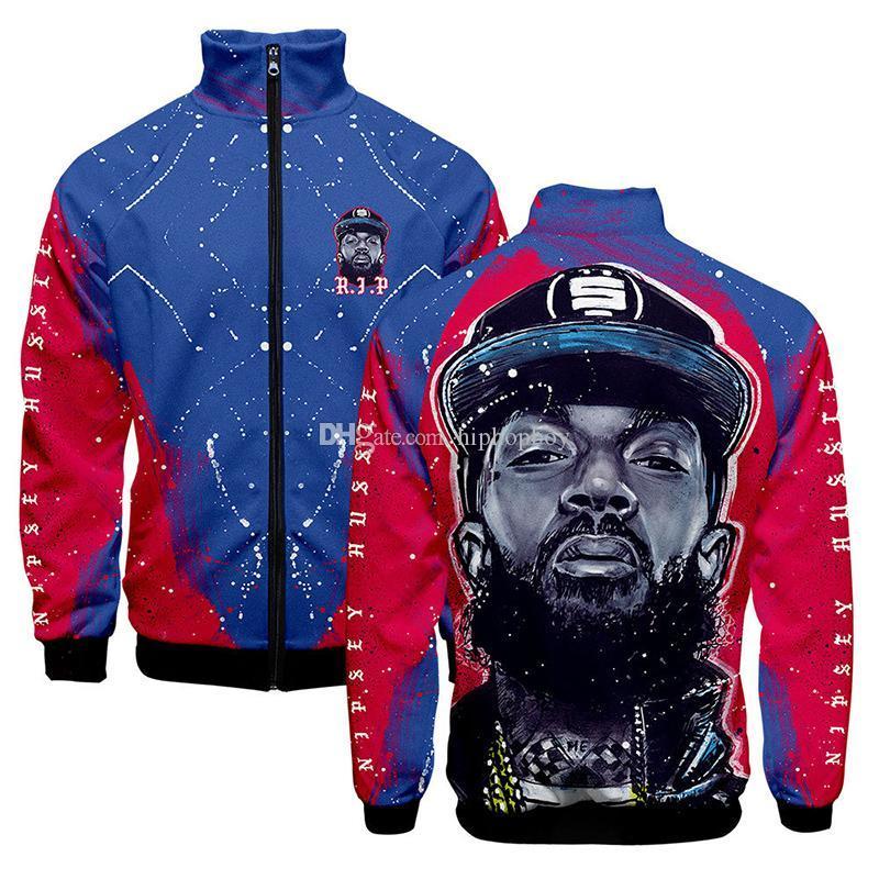 Herren-Stylist Jacke Rip xxxtentacion Zipper Strickjacke-Mantel Mens Fashion Stylist Freizeit Ober Qualitäts-Jacke