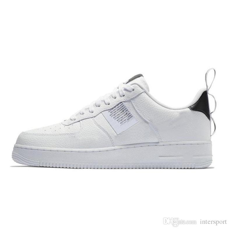 Großhandel Nike Air Force 1 Designer Shoes 2018 Hochwertiges Spezialfeld Forcing Kräfte Männer Frauen Hohe Stiefel Laufschuhe Turnschuhe Stellt