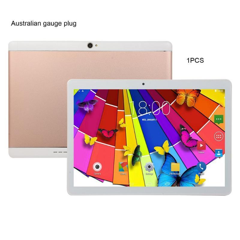 KT107 Yuvarlak Delik Tablet 10.1 inç HD Büyük Ekran Android 8.10 Sürüm Moda Taşınabilir Tablet 8G + 64G Pembe araba