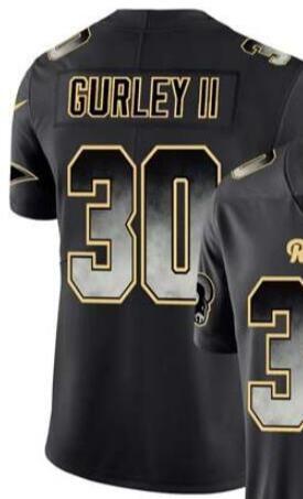 Black Smoke Fashion Limited Jersey Men's Los Angeles 16 30 99 jersey Shirts All Teams American football jerseys 00