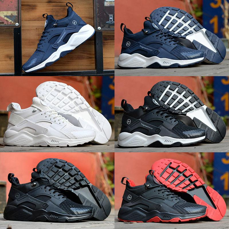 New New Huarache 6 X Acronym City MID Leather High Top Huaraches Mens Trainers Kids Running Shoes Men Huraches Sneakers Hurache