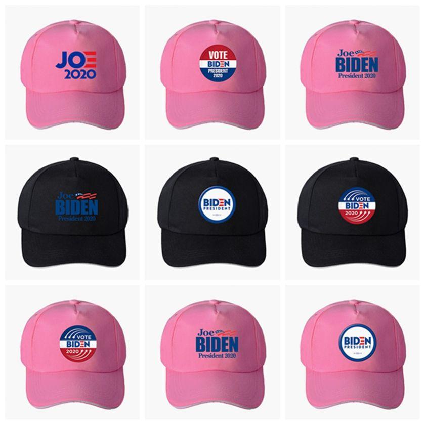 El presidente gorra de béisbol Joe Biden Negro sombrero rosado elección de Estados Unidos de verano al aire libre del sombrero de Sun del casquillo de la bola 2020 HHA1388