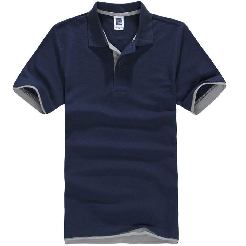 МУЖСКАЯ Марка рубашка поло для мужчин Дизайнер Polos мужчин хлопок с коротким рукавом рубашка Brands трикотажных изделий Golftennis конструктора