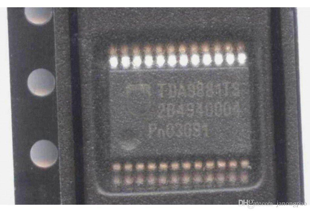 2 adet TDA9881TS Televizyon sinyal işlemcisi