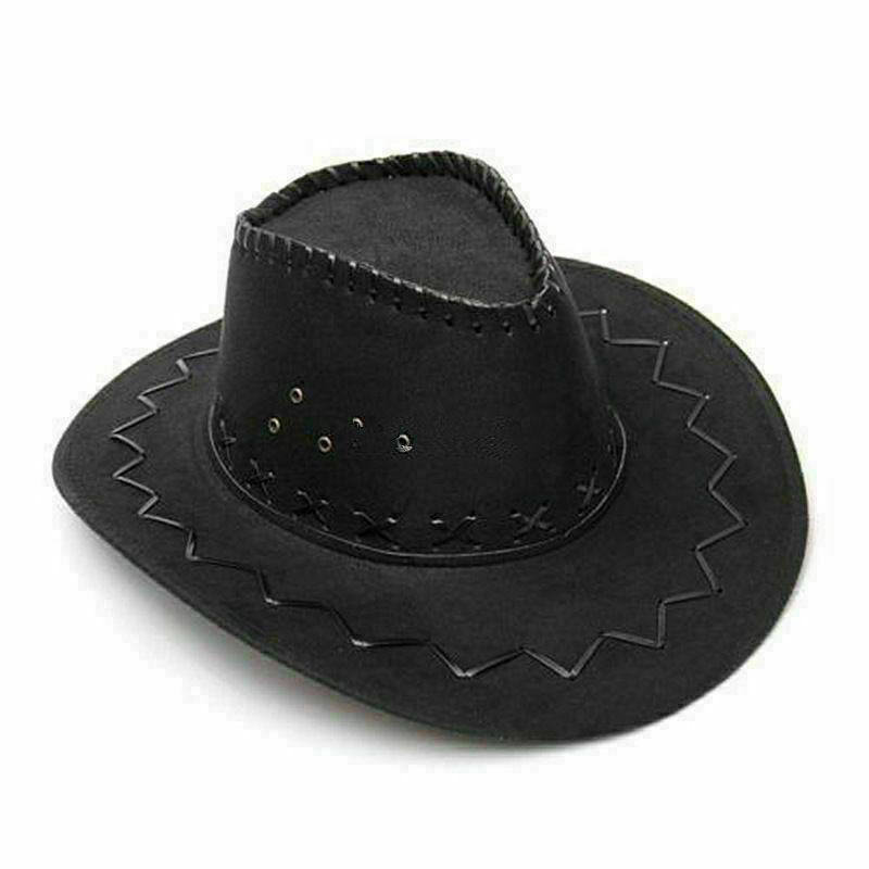 Западные Cowboy джинсовые шляпы для мужчин Fedora Широкий Брим Jazz Cap Party Мужчины Женщины