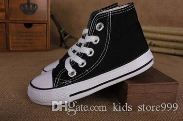 Nuovo marchio per bambini Bambini scarpe di tela di alta moda - scarpe basse ragazzi e ragazze di sport dei bambini di trasporto