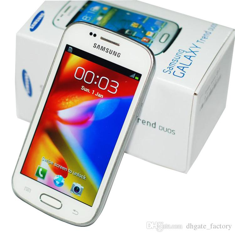 Samsung GALAXY Trend Duos II S7572 S7562I 3G Smart Phone 4.0Inch Screen Android4.1 WIFI GPS Dual Core Unlocked