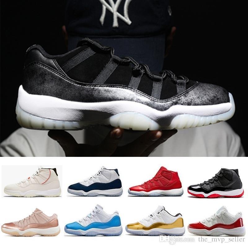 Hot 11 11s Uomini Donne scarpe da basket alto basso le Bred Citrus Concord 23 45 72-10 Palestra Red Bred Georgetown bianco blu nero verde acqua J11 Sneakers
