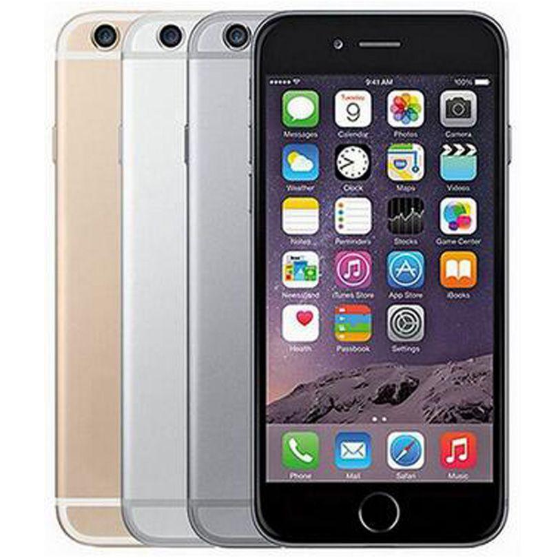 Refurbished Original Apple iPhone 6 Plus With Fingerprint 5.5 inch A8 Chipset 1GB RAM 16/64/128GB ROM IOS 8.0MP Camera LTE 4G Phone DHL 5pcs