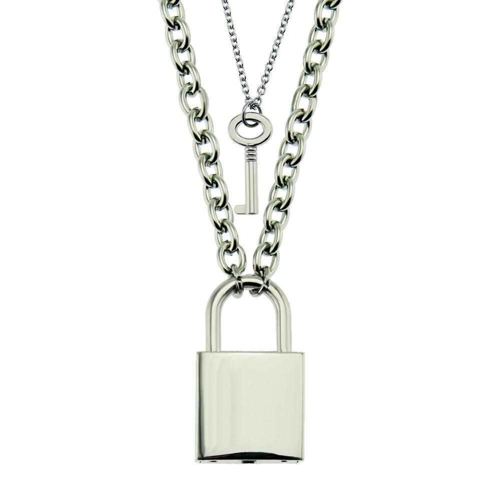 designer de 2020 explosão de ar jóias suavizar homens e mulheres-chave e luva de bloqueio pingente de moda jóias pingente de colar