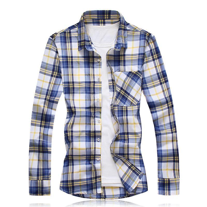 Hommes Chemise à manches longues en vrac japonais Streetwear Imprimer la mode 2019 Chemises décontractées Plus Size Asian M-5XL