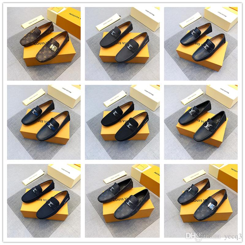 Fashion men's shoes casual loafers man breathable slip-on genuine leather shoes men black & white driving platform shoes for men