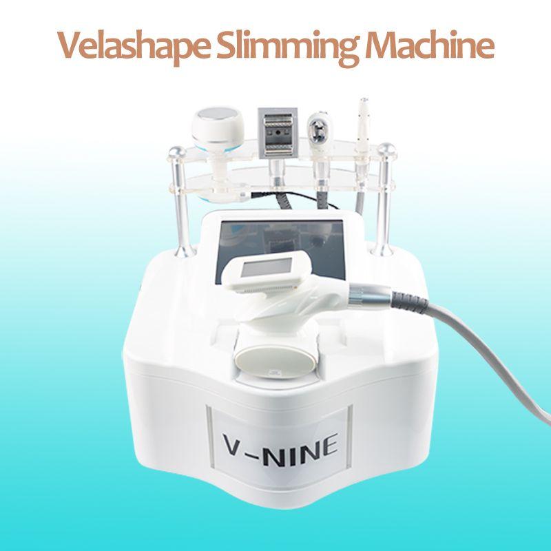 5 dans une machine à Velashape pour la réduction de la perte de poids de la cellulite velashape dispositif minceur corps de rouleau à vide