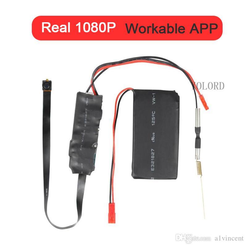 Workable APP Sotck 1080P DIY 2.4G WiFi Mini Camera P2P Remote Monitoring Video Recorder Module Night Vision Nerwork Cam