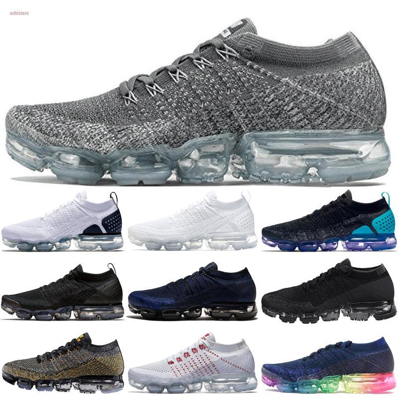 Nike Air Vapormax 2018 Maxes 2018 Mens Running Shoes Shoes Mulheres Moda Atletismo Esportes Hot Corss Caminhadas Jogging sapatos de caminhada ao ar livre tênis
