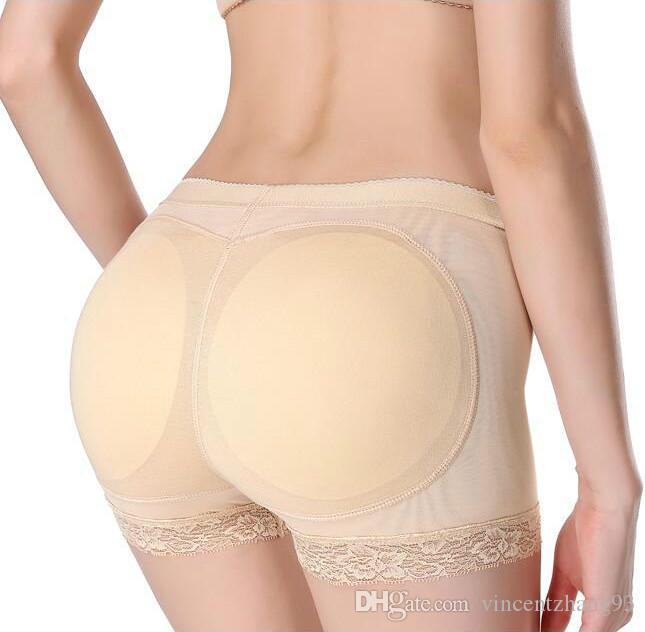Shaper Hot Pants Sexy mulher Calcinhas Boyshort Ass Falso Underwear Push Up Panties Buttock Shaper Bundas Lifter Hip Enhancer