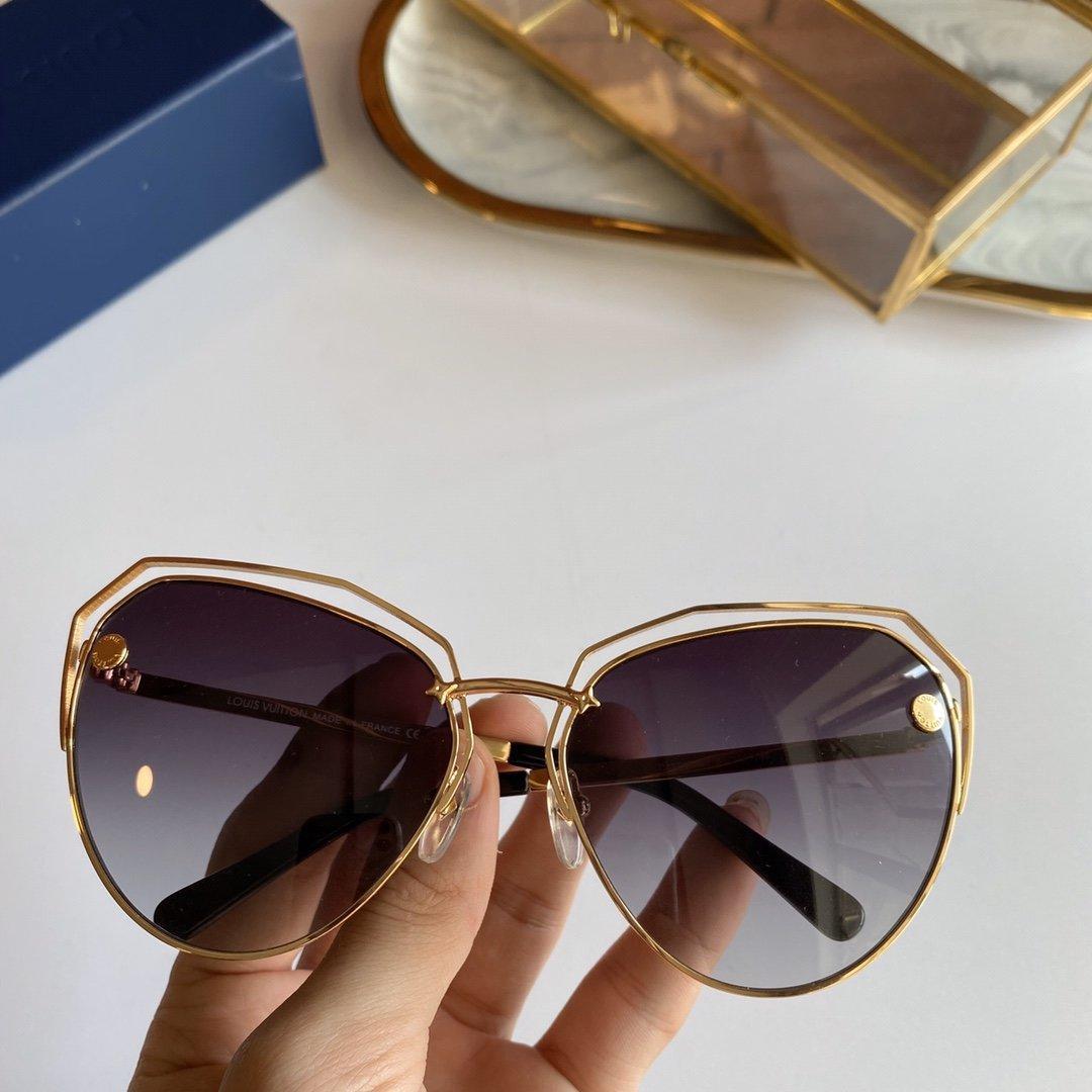 2020 النظارات الشمسية شخصية جديدة، نظارات أنيقة للرجال والنساء، ذات جودة عالية نظارات شمس UV400 5 اللون اختياري مع مربع
