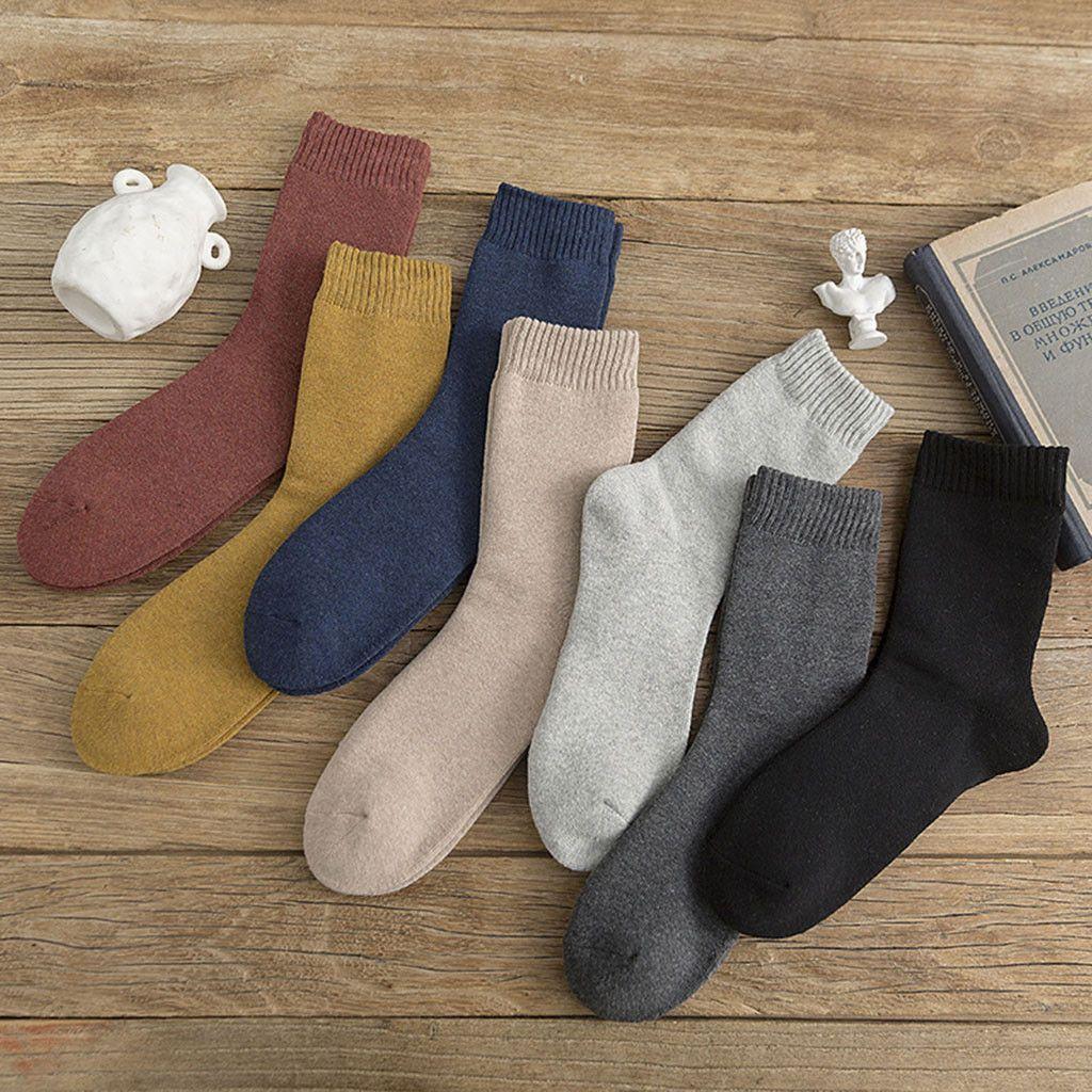 Christmas Funny Cute Japanese High School Girls Cotton Solid Crew Socks Colorful Women Sox Harajuku Designer Retro winter socks