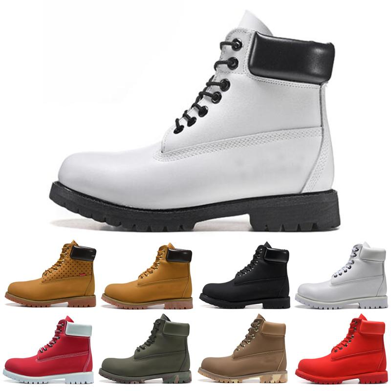 Bota For Men Mulheres Botas de Inverno Triplo Black Red White Moda Mens instrutor Caminhadas ao ar livre Sneaker frete grátis