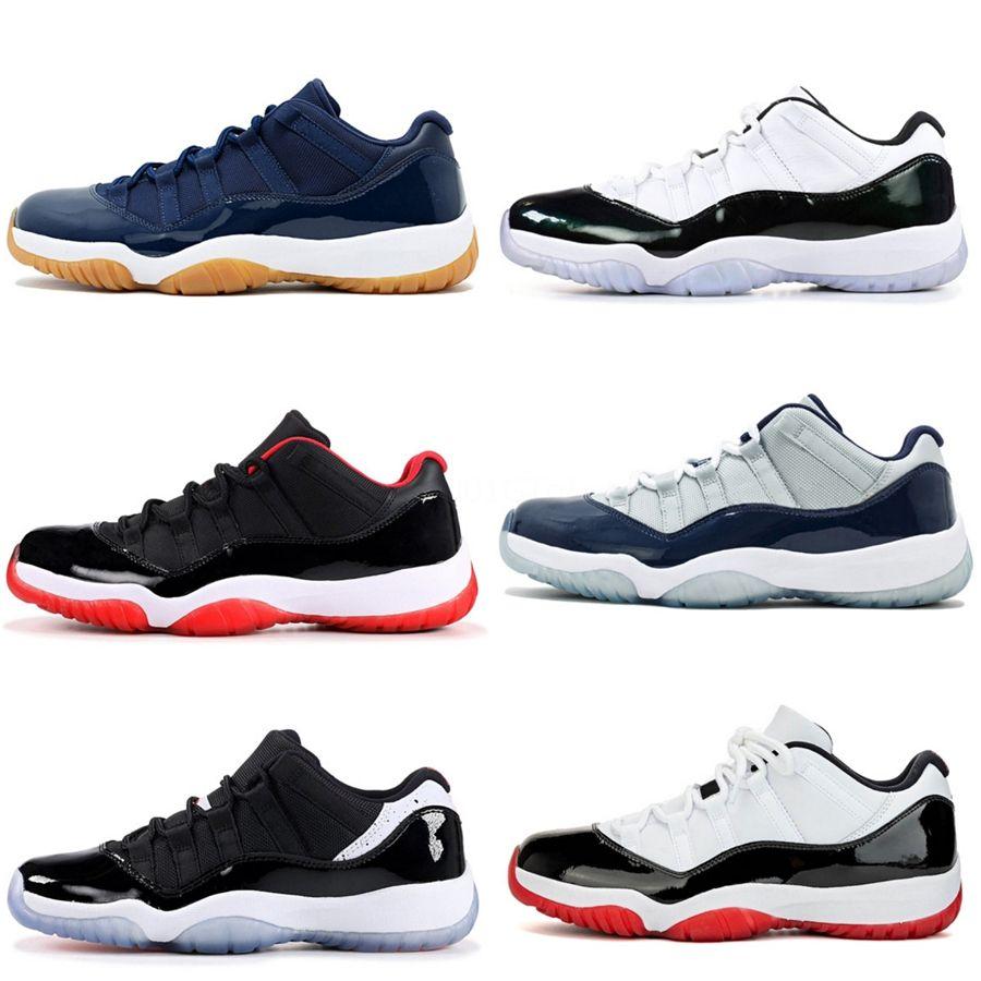 Jumpman 11 Faible Og Wmns WMNS Cour Concord Chaussures de basket Jeu 11S Hommes Chaussures Top 3 Ciment Chi Octobre # 687
