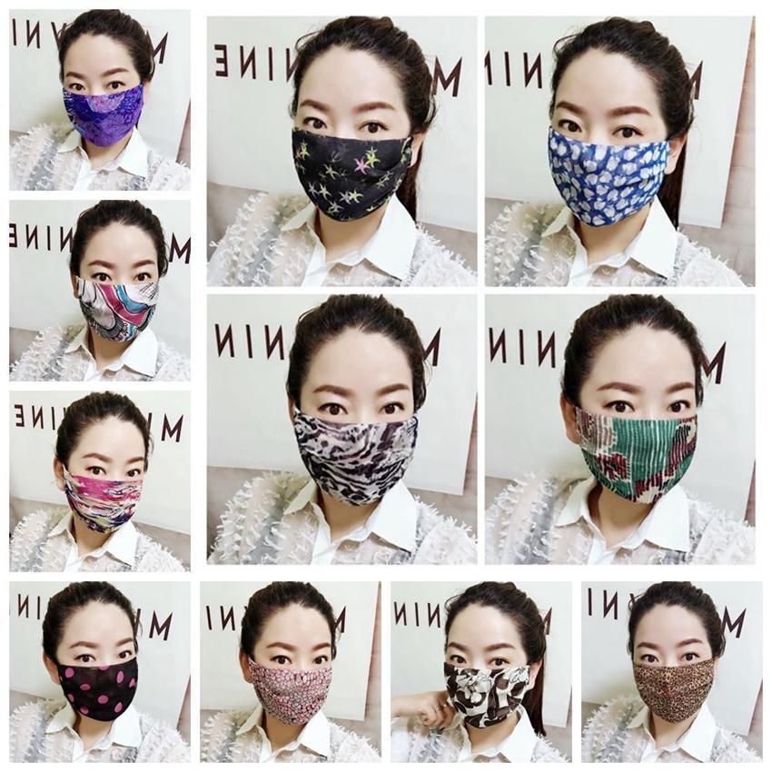 여성 얼굴 여름 아이스 실크 표범 도트 프린트 마스크 일 보호 통기성 타고 햇빛 가리개 썬 커버 XD23209 마스크