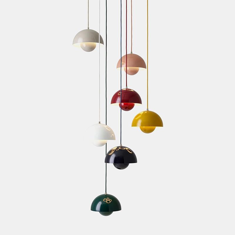Semplice moderna Consegna pendente del metallo Lampadario Home Living Room Bedroom lampada a sospensione luce di soffitto Decor Fixture PA0282
