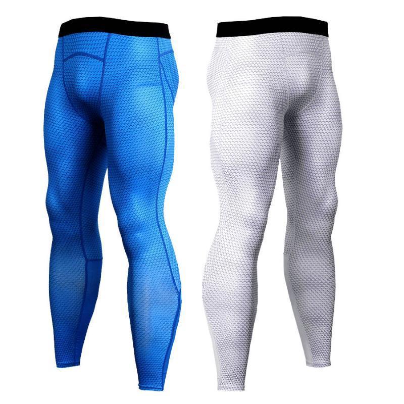 calças homens de compressão para corrida, esportes calças dos homens novos para o treinamento, ginásio, corrida, fitness Mens leggings