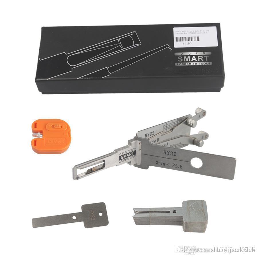 Spedizione gratuita SMART 2 in 1 HY22 Auto Lock pick strumento e Decoder per HYUNDAI KIA fabbro