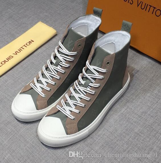 White Frauen-Leder-Schuhe für Männer und Frauen Casual Schuhe Schwarz Gold Rot Art und Weise bequeme flache Schuhe Größe 35-46 0445