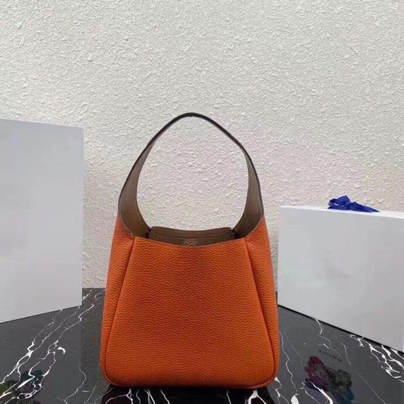 2020 New Fashion Brand Luxury Handbag for Women Genuine Leather Top Quality Tote Handbag Lady Tote Bucket Bag