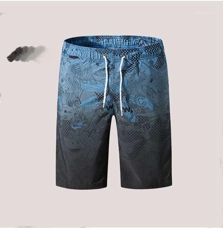 Pantalones de jóvenes sencillos para hombre pantalones cómodos pantalones cortos para hombre Moda Sol Micro elástico flojo luz suave ocasionales de la playa