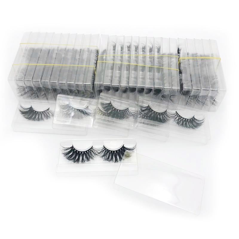 rainsin artesanal 28 mm 16 estilos 30 pares 25 milímetros ferramenta de cílios longos vison composição 3d cílios falsos