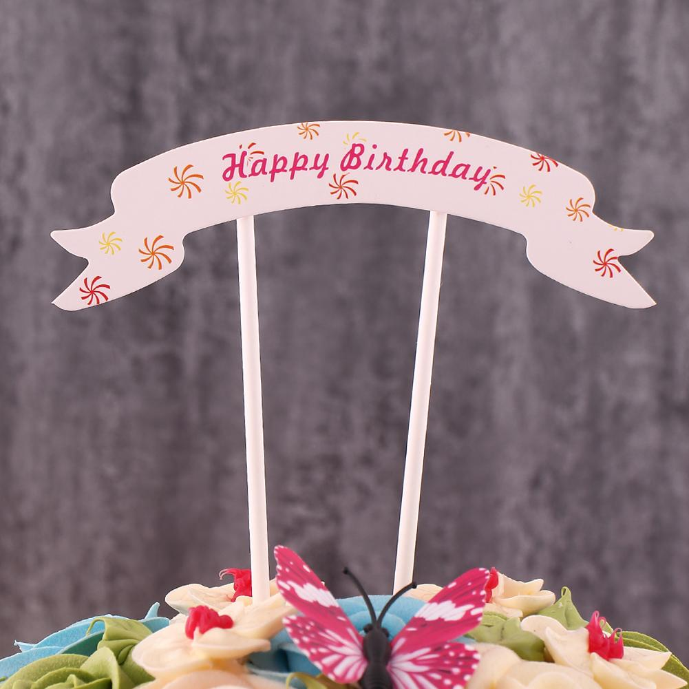 Fine 2020 Happy Birthday Cake Topper With Sticks Cupcake Toppers Cake Personalised Birthday Cards Paralily Jamesorg