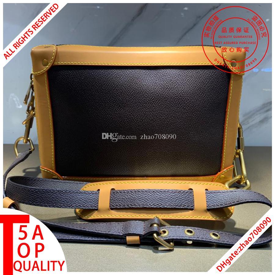 kutu A002 ile Erkekler YUMUŞAK BAGAJ Messenger çanta Tasarımcı Crossbody Çanta omuz çantası hakiki deri cüzdan tasarımcı sırt çantası erkek cüzdan