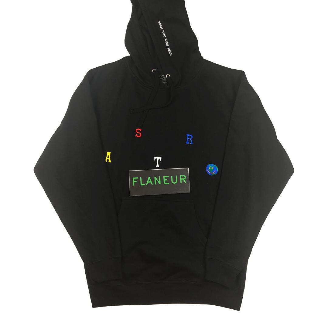 Astroworld Sweat À Capuche De Haute Qualité Brodé Hommes Designer Hoodies Polaire Sweatshirts Livraison gratuite Hip Hop Pull 2018 Travis Vêtements