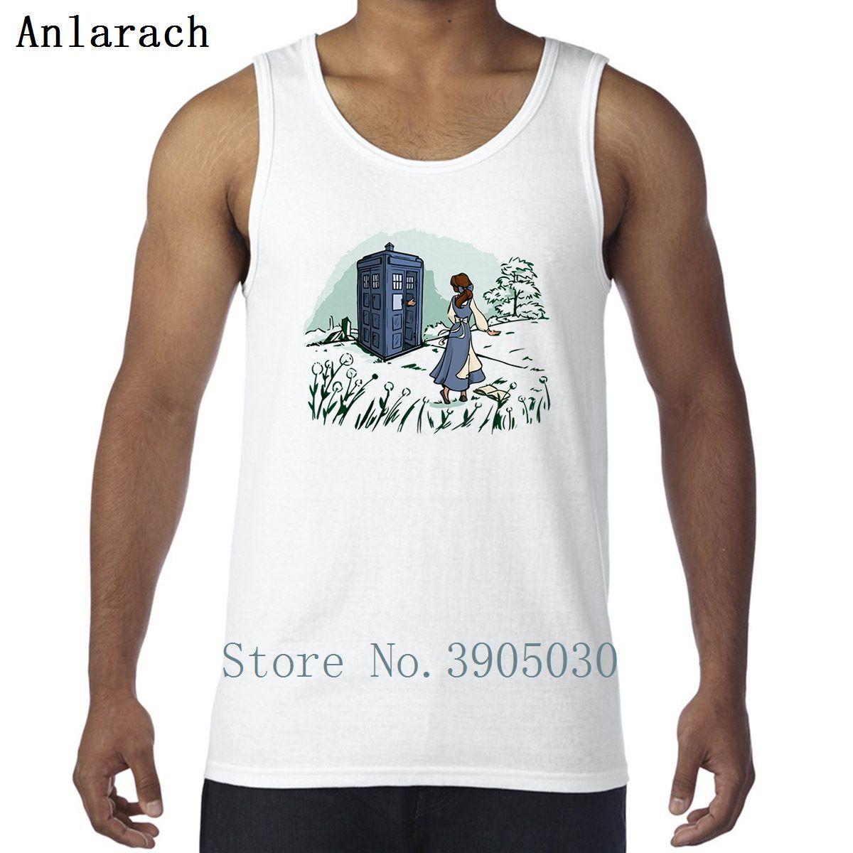 Beauty and Doctor Whot Vest Building Bio Color Solid Motto T-shirt senza maniche T-shirt da uomo