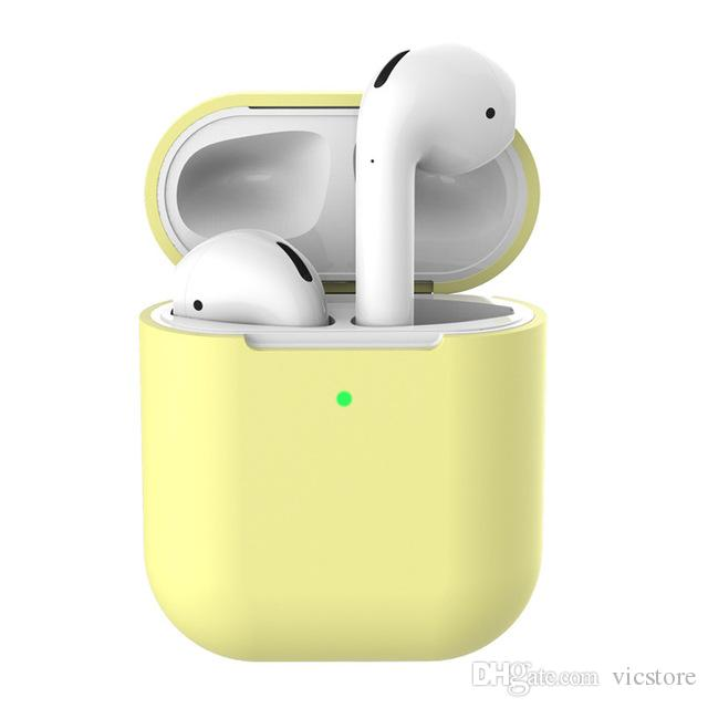 Soft Silicone Shockproof Cover Case For Apple AirPods 2nd Generation  Earphone Capa Headphone Coque For Airpods Shell Accessories Waterproof  Headphones