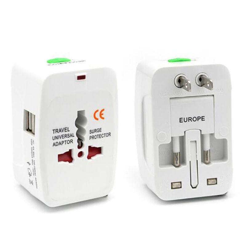 International Travel Adapter Universal Power Adapters Plug Converter Worldwide All in One with USB Port AC Socket Adaptor for US EU UK AU