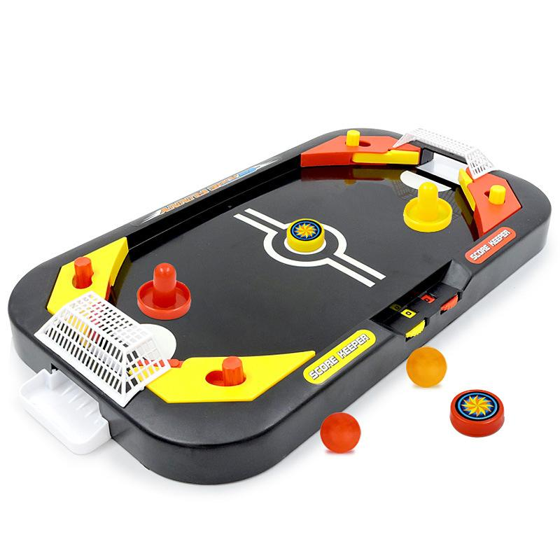 Mini Air Hockey Table Desktop Battle 2 In 1 Ice Hockey Game Leisure Children Educational Interactive Toy Kids Gift Indoor Game T200622 Online Board Games Life Nations Board Game From Chao08 12 28 Dhgate Com