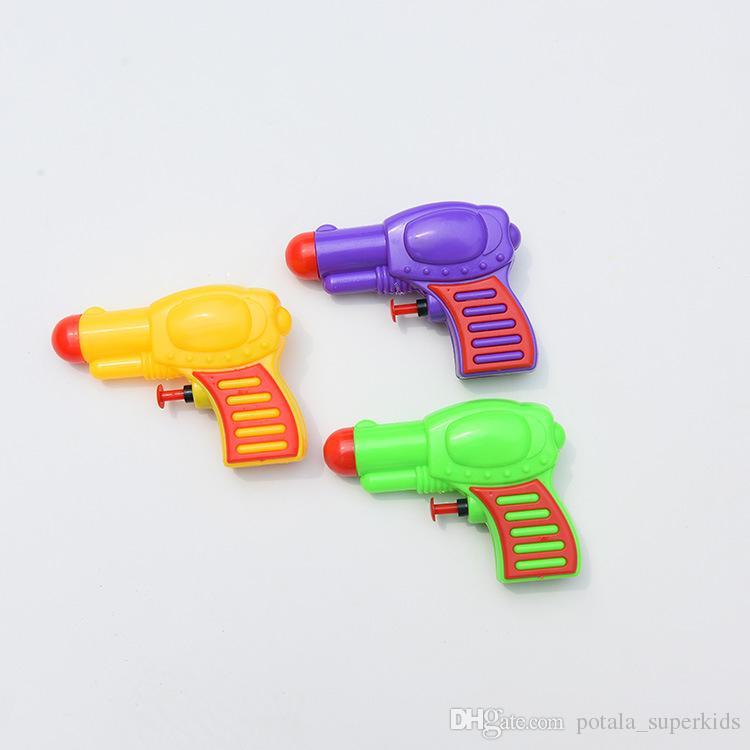 Mini Child Water Gun Kids Funny Outdoor Water Toys Summer Beach Water Gun Pistol Blaster SprayWater For Children Holiday Beach Squirt Toys
