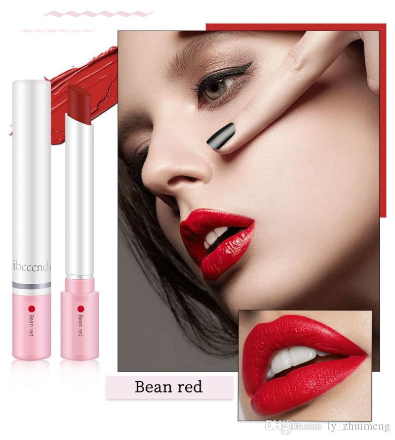 ibcccndc Creative Cigarette Lipstick Set Makeup Lip Gloss 4 Colors Matte Velvet Lipsticks Tube Nude Red Moisturizer Long Lasting Lip Kit