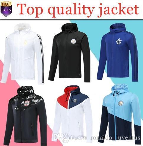 2019 Paris jacket Brazil national Gremio windbreaker hoodie Champions League Survetement 2020 MBAPPE football jacket soccer TRACKSUIT