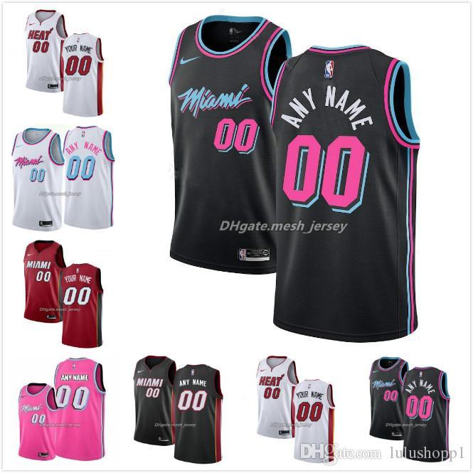 2020 Customized Miami 13 Heat Men Women Kid Custom Name Number Jersey 3 Wade 21 Whiteside 22 Butler Nba 13 City Basketball Edition Jerseys Whit From Jw88991 21 76 Dhgate Com