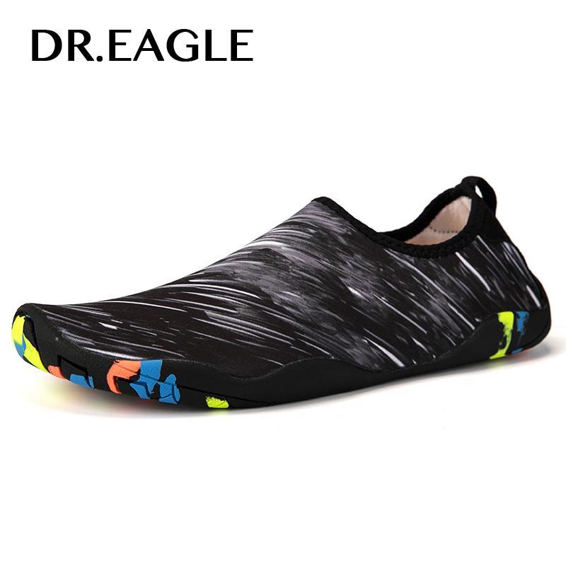 Резиновая обувь мужские пляжные быстросохнущие кроссовки босиком sea aqua swim water shoes мужские женские тапочки для плавания спортивные носки