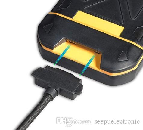 Зарядное устройство кабельного шнура 72 дюймов 6.5FT Для Sonim Sonim XP5 / XP6 / XP7 зарядное Магнитные Контакты Шнур кабель для синхронизации для XP5700 / XP6700 / XP700 в мешке