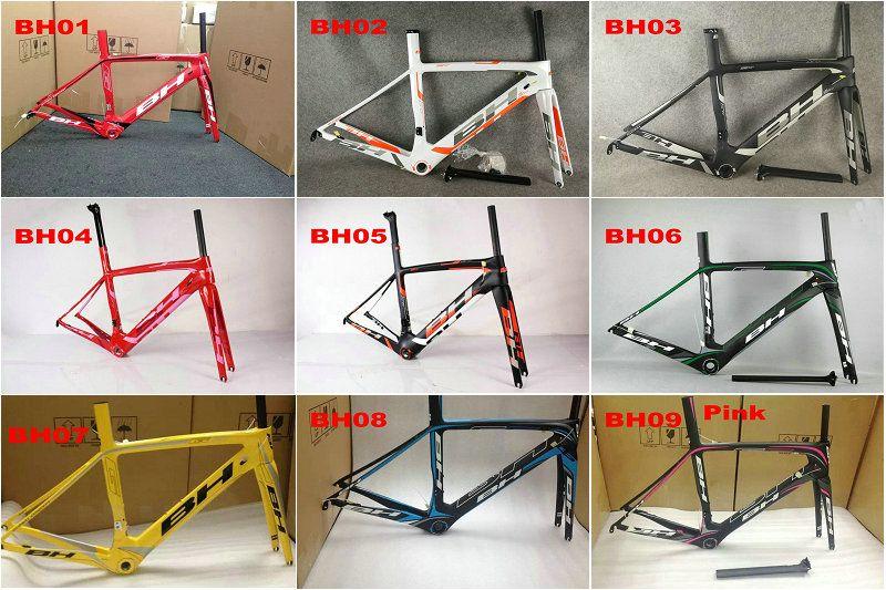 BH G6 bici del carbonio telaio in fibra di carbonio pieno della bici della strada struttura della bici telaio da strada della bicicletta cadre Velo carbone vendita n2