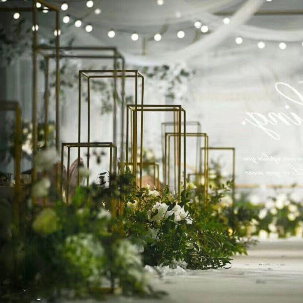 ... Floor Vases Flowers Vase Column Stand Metal Pillar Road Lead Wedding Centerpieces Rack Event Party Christmas ... & Floor Vases Flowers Vase Column Stand Metal Pillar Road Lead Wedding ...