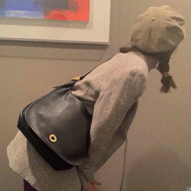 Omuz çantası 2019 yeni moda Koreli kadın çantası Retro omuz çapraz pu yumuşak deri basit küçük