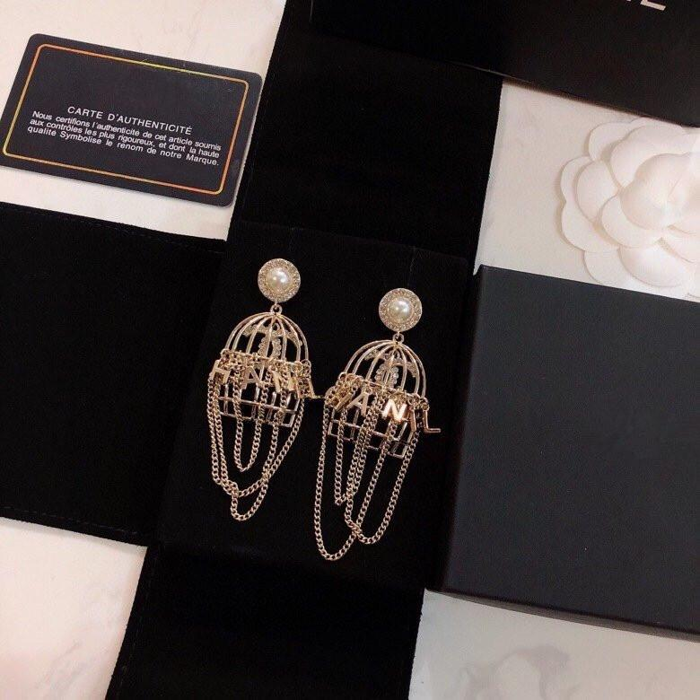 2020C fashionable tassel earrings hot-selling original brass earrings with temperament for ladies